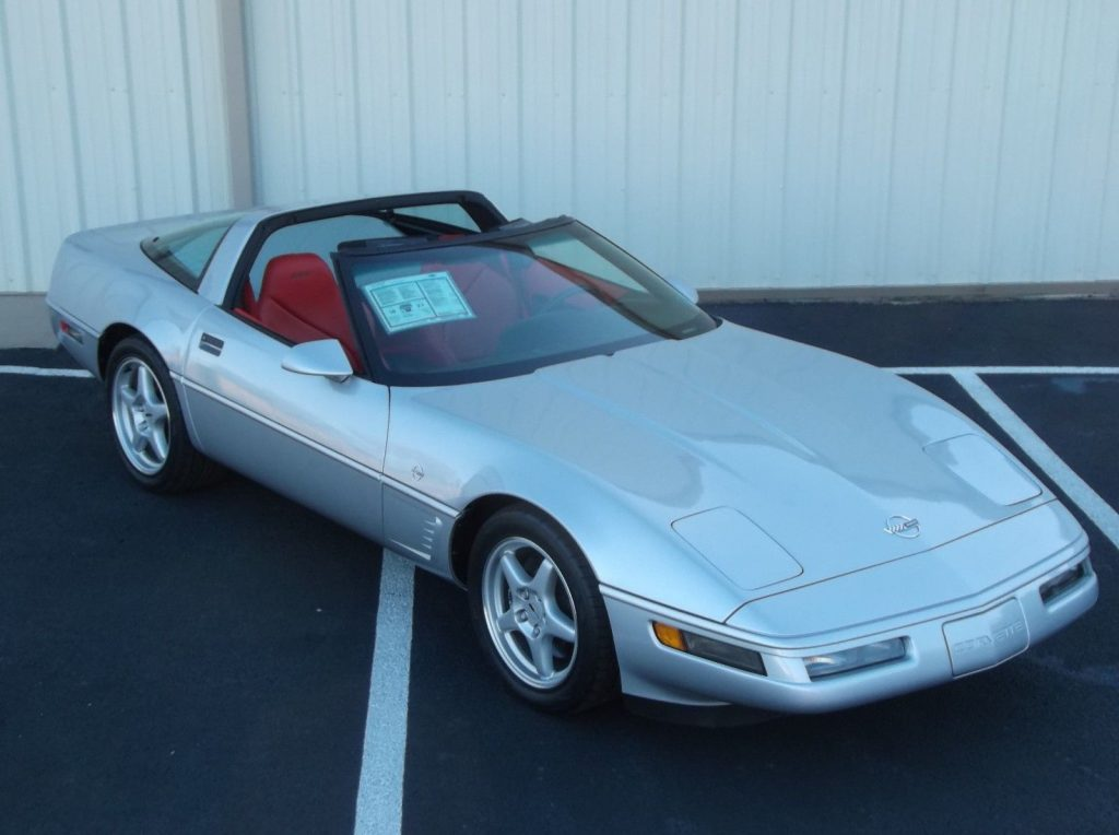 1996 Chevrolet Corvette Collector Edition LT4 6spd Rare Red Interior, Only 36,926 Miles