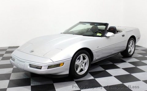 1996 Chevrolet Corvette Sebring Silver Collectors Edition Convertible for sale