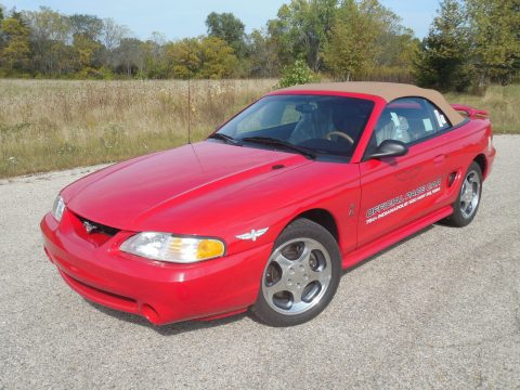 Beautiful 1994 Ford Mustang Cobra SVT Indy Pace Car for sale