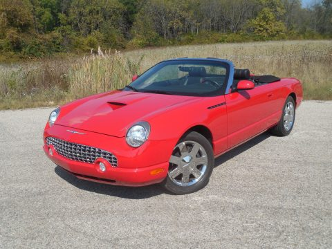Beautiful 2002 Ford Thunderbird Premium for sale