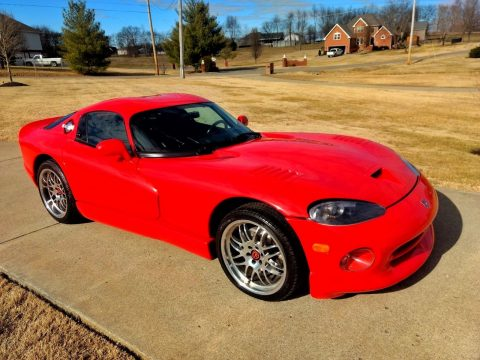 Extremely Rare 1997 Dodge Viper GTS for sale