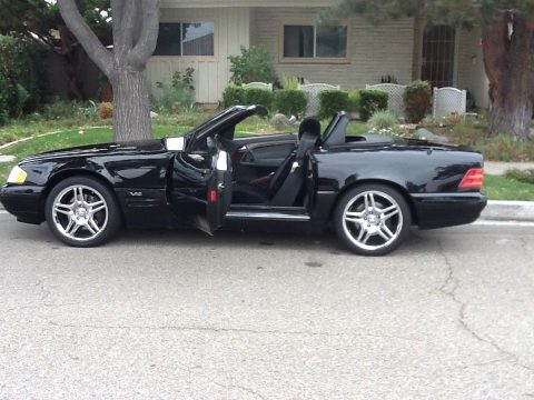 Exceptional 1997 Mercedes Benz SL Class SL600 for sale