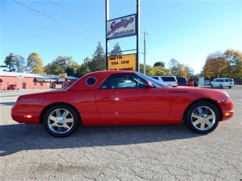 2002 Ford Thunderbird Deluxe – COLLECTOR QUALITY for sale