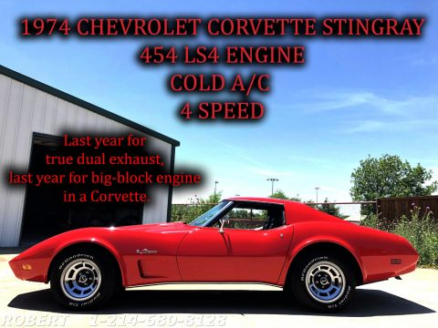 SUPER RARE 1974 Chevrolet Corvette for sale
