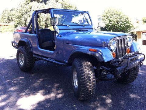 GREAT 1981 Jeep CJ CJ 8 Scrambler for sale