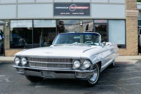 1962 Cadillac 62 Series Classic Collector Convertible for sale