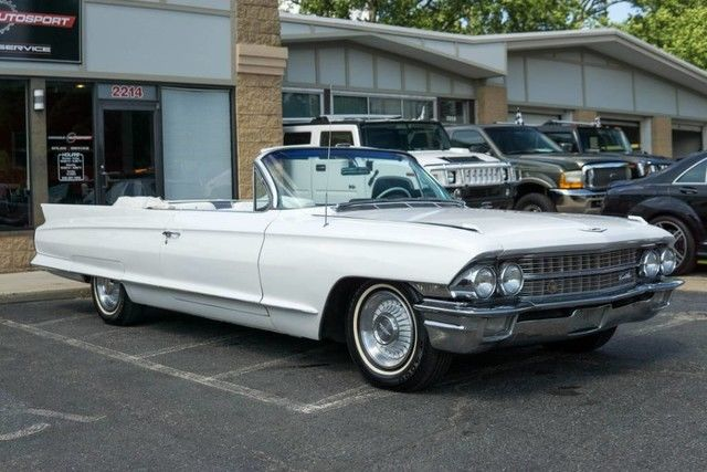 1962 Cadillac 62 Series Classic Collector Convertible